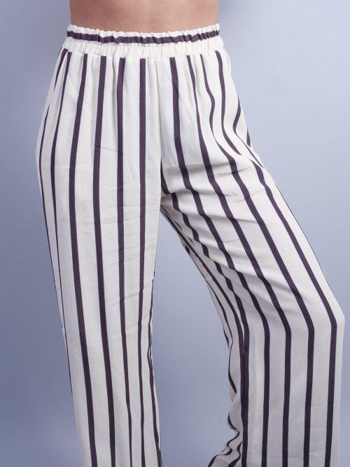 Palazzo striped pants