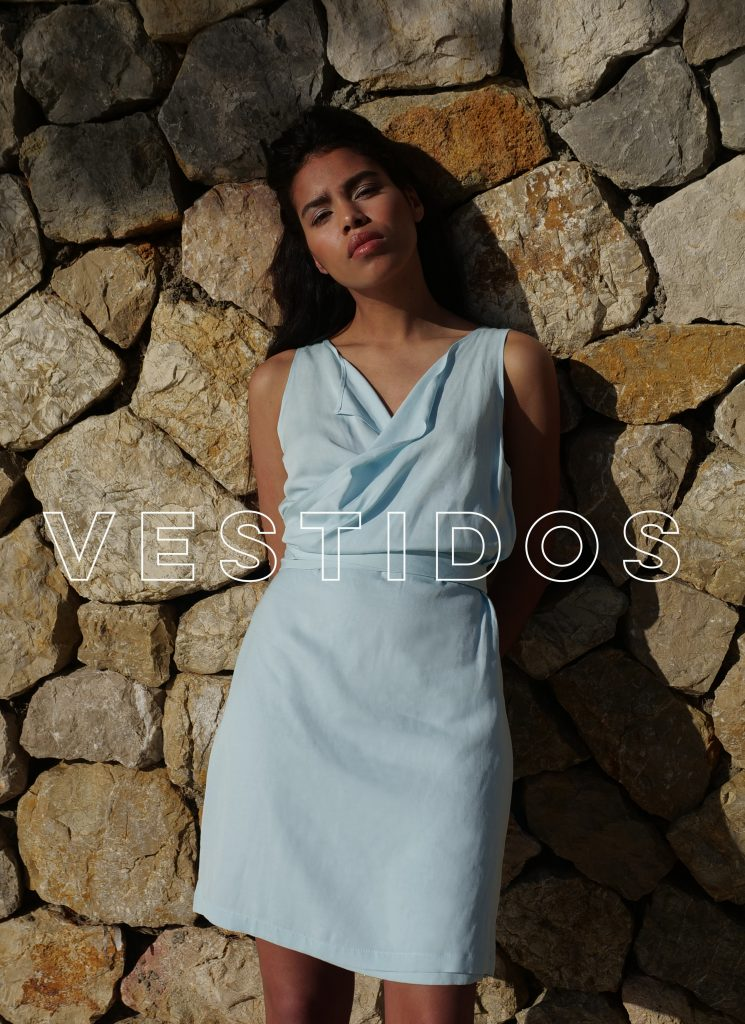 Vestidos moda sostenible, hecha en España